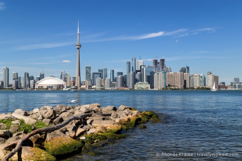 travelyesplease.com | Photo of the Week: Toronto Skyline- View From the Toronto Islands