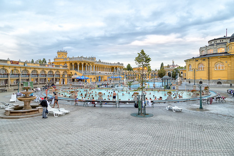 travelyesplease.com | Budapest Spas- Reviews and Tips for Visiting | Széchenyi Spa