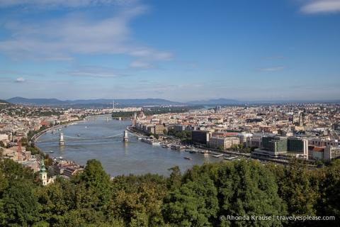 travelyesplease.com | Gellért Hill and the Citadella, Budapest