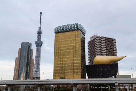 travelyesplease.com | Photo of the Week: Asahi Breweries Headquarters in Tokyo