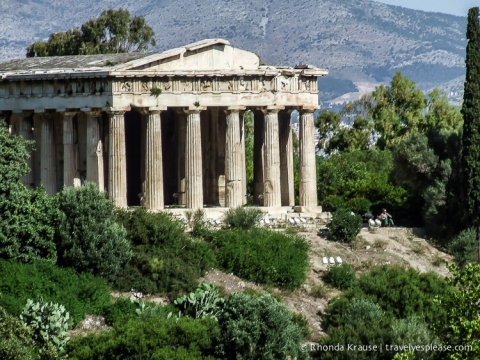 travelyesplease.com   Photo of the Week: Temple of Hephaestus, Athens