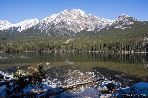 travelyesplease.com | Pyramid and Patricia Lakes, Jasper National Park