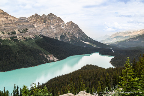 travelyesplease.com | Photo of the Week: Peyto Lake, Banff National Park