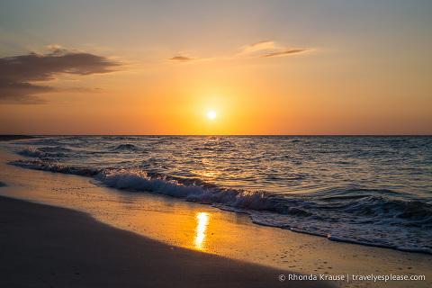 travelyesplease.com | Photo of the Week: Varadero Sunset