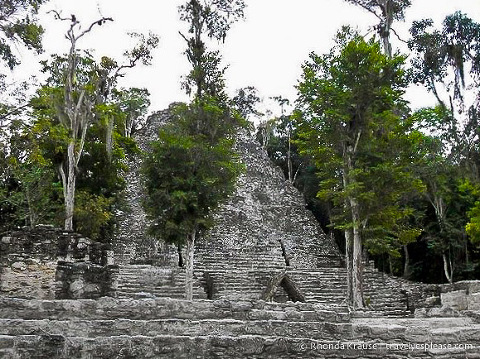 travelyesplease.com | Coba, Mexico- A Mad Dash Towards a Terrifying Climb