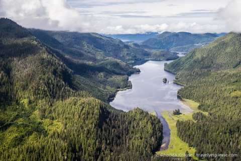 travelyesplease.com | Flightseeing in Ketchikan, Alaska- Misty Fjords National Monument