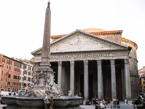 travelyesplease.com | Photo of the Week: Pantheon, Rome