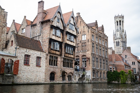 travelyesplease.com | View from the Rozenhoedkaai, Bruges: Photo of the Week