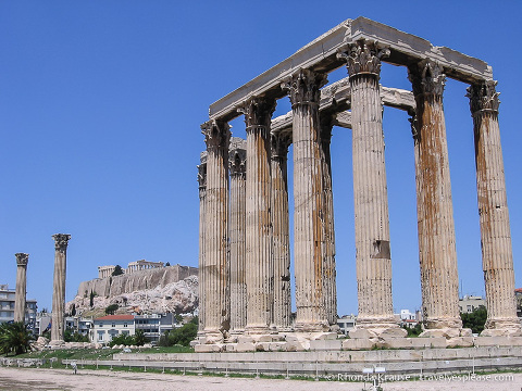 travelyesplease.com | Photo of the Week: Temple of Olympian Zeus, Athens