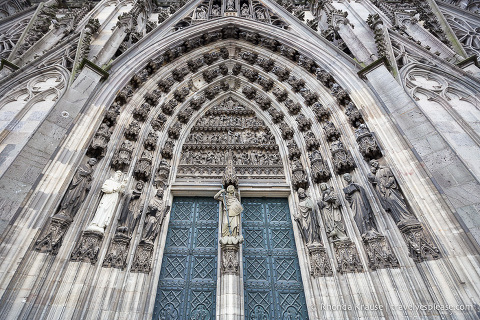 travelyesplease.com | Photo of the Week: Cologne Cathedral's North Portal