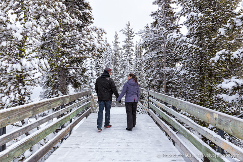 travelyesplease.com | Romantic Winter Getaway in Alberta, Canada- 4 Romantic Winter Weekends