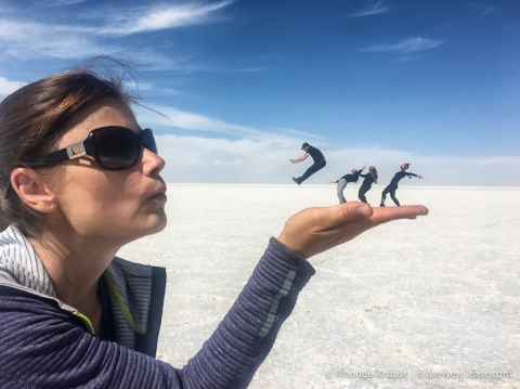 travelyesplease.com | The Uyuni Salt Flats in Bolivia- Our 1-Day Tour of Salar de Uyuni