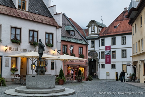 travelyesplease.com | Photo of the Week: An Old Town Square in Füssen, Germany
