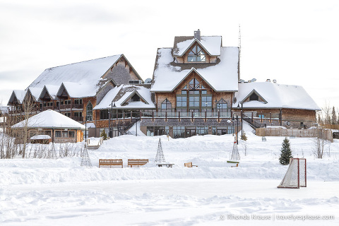travelyesplease.com | Winter Getaway in Saskatchewan- Prince Albert National Park and Elk Ridge Resort