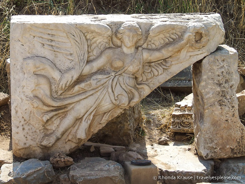 travelyesplease.com | The Flying Nike- Ephesus, Turkey