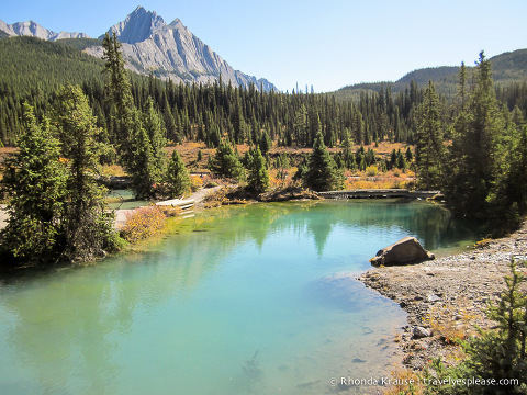 travelyesplease.com | Photo of the Week: Ink pots- Banff National Park, Canada
