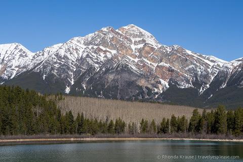 travelyesplease.com | Pyramid and Patricia Lakes, Jasper National Park