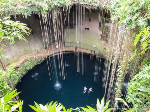travelyesplease.com | Sacred Swim- Ik Kil Cenote, Mexico