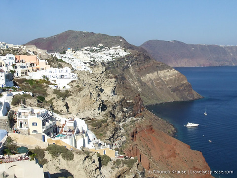 travelyesplease.com | Stunning Views and Crazy Donkeys- A Whirlwind Trip to Santorini