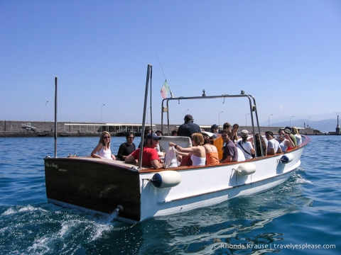 travelyesplease.com   Capri- Boat Tour and The Famous Blue Grotto