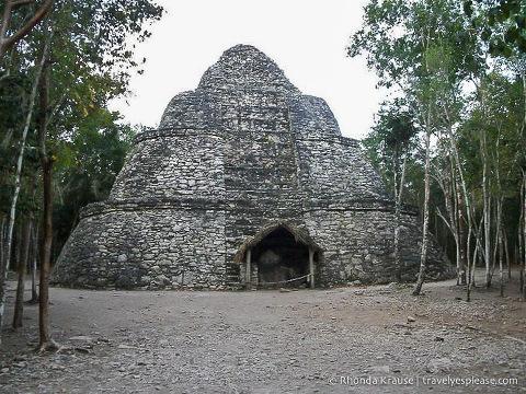 travelyesplease.com | Coba, Mexico- A Mad Dash Towards a Terrifying Climb