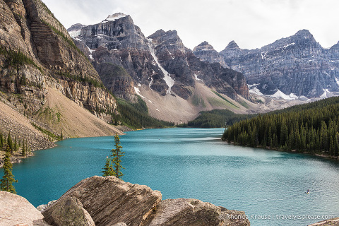 travelyesplease.com | The Lake With the Twenty Dollar View- Moraine Lake, Banff National Park