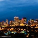 Photo of the Week: Downtown Lights, Edmonton, Alberta