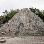 Coba, Mexico- A Mad Dash Towards a Terrifying Climb