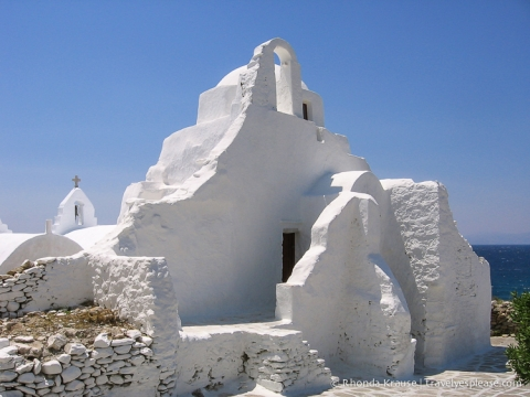 travelyesplease.com | Church of Panagia Paraportiani- Mykonos, Greece