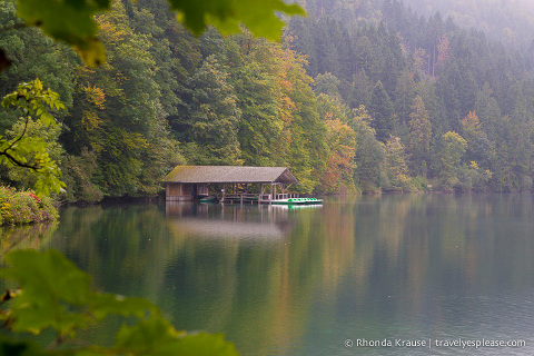 travelyesplease.com |Photo of the Week: Alpsee Lake- Bavaria, Germany