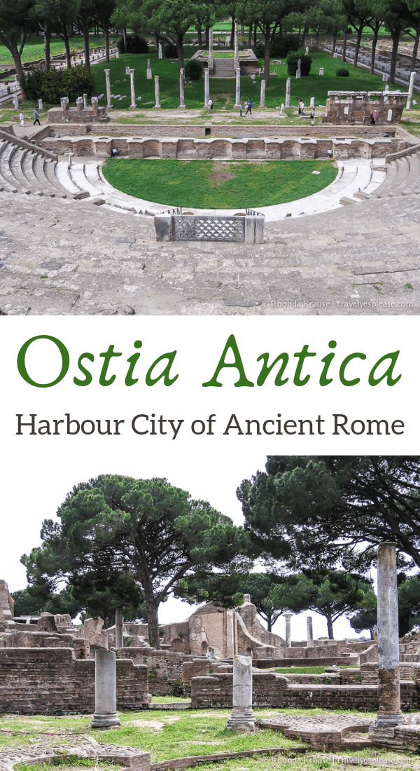 Visiting Ostia Antica- Harbour City of Ancient Rome