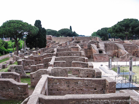 travelyesplease.com | Day Trip to Ostia Antica- Harbour City of Ancient Rome