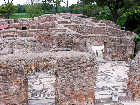 travelyesplease.com | Visiting Ostia Antica- Harbour City of Ancient Rome