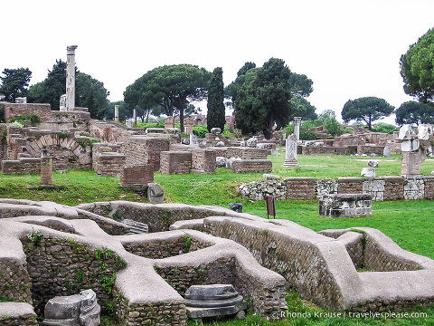 travelyesplease.com | Ostia Antica- History, Tour and Tips for Visiting from Rome