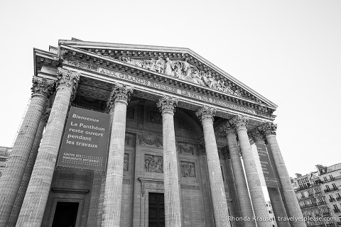 travelyesplease.com | Paris in Black and White- Photo Series| The Pantheon