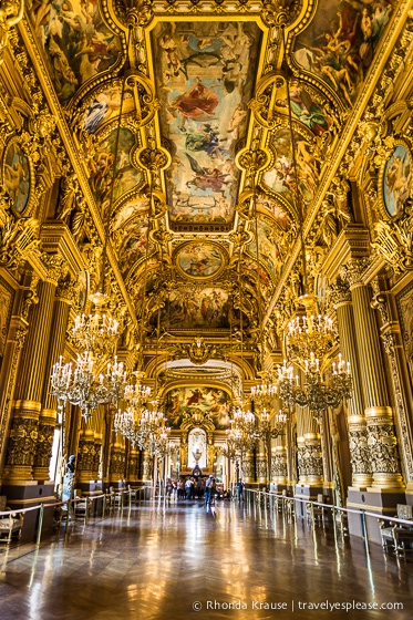 Palais Garnier Grand Foyer : Grand foyer of palais garnier paris photo the week