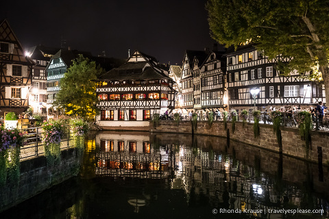 travelyesplease.com | Europe at Night- A Photo Series | Strasbourg, France