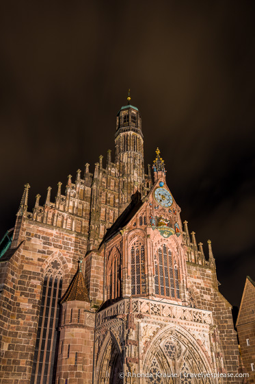 travelyesplease.com | Europe at Night: A Photo Series | Nuremberg, Germany