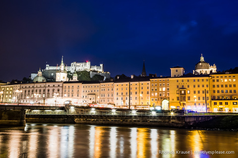 travelyesplease.com | Europe at Night- A Photo Series | Salzburg, Austria