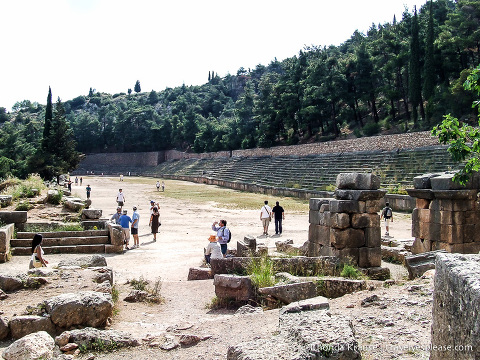 travelyesplease.com | Ancient Delphi- The Navel of the World