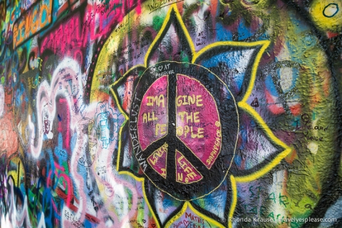 travelyesplease.com | Photo of the Week: John Lennon Wall, Prague