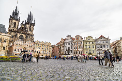 travelyesplease.com | Pleasant Surprises in Prague | Old Market Square