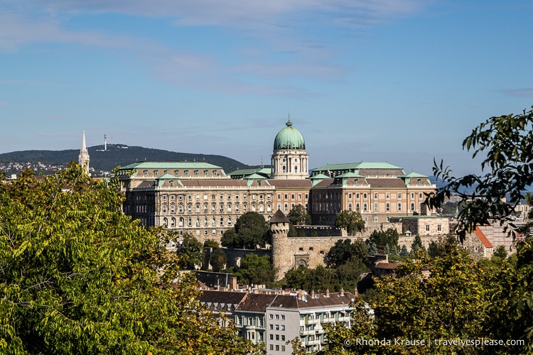 Castle Hill Budapest Self Guided Tour Of The Points Of