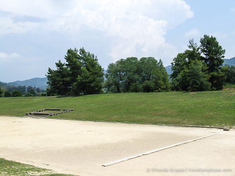 travelyesplease.com | Ancient Olympia- Birthplace of the Olympic Games | The Stadium