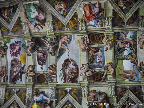 travelyesplease.com | Photo of the Week: Sistine Chapel, Rome