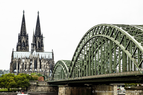 travelyesplease.com | Photo of the Week: Cologne Cathedral and Hohenzollern Bridge
