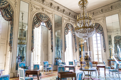 Trianon Palaces at Versailles- Inside the Grand Trianon.