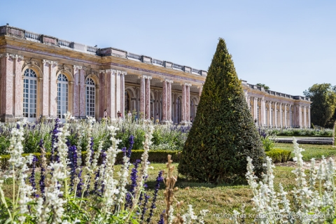 The Grand Trianon, one of the Trianon Palaces at Versailles.