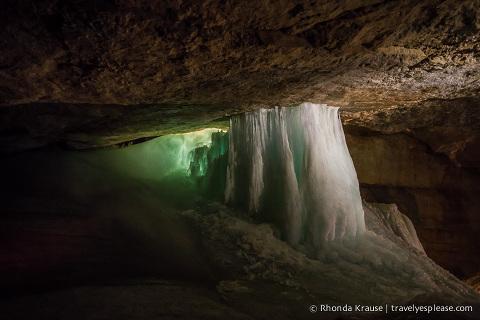 travelyesplease.com | Dachstein Ice Cave, Austria