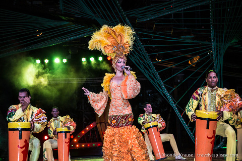 travelyesplease.com | A Night Out at the Tropicana, Havana- Review and Photos